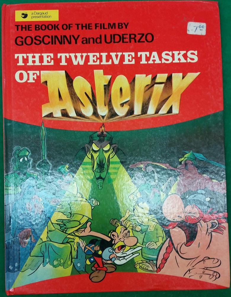 The Twelve Tasks Of Asterix By Goscinny And Uderzo 1976 Ebay