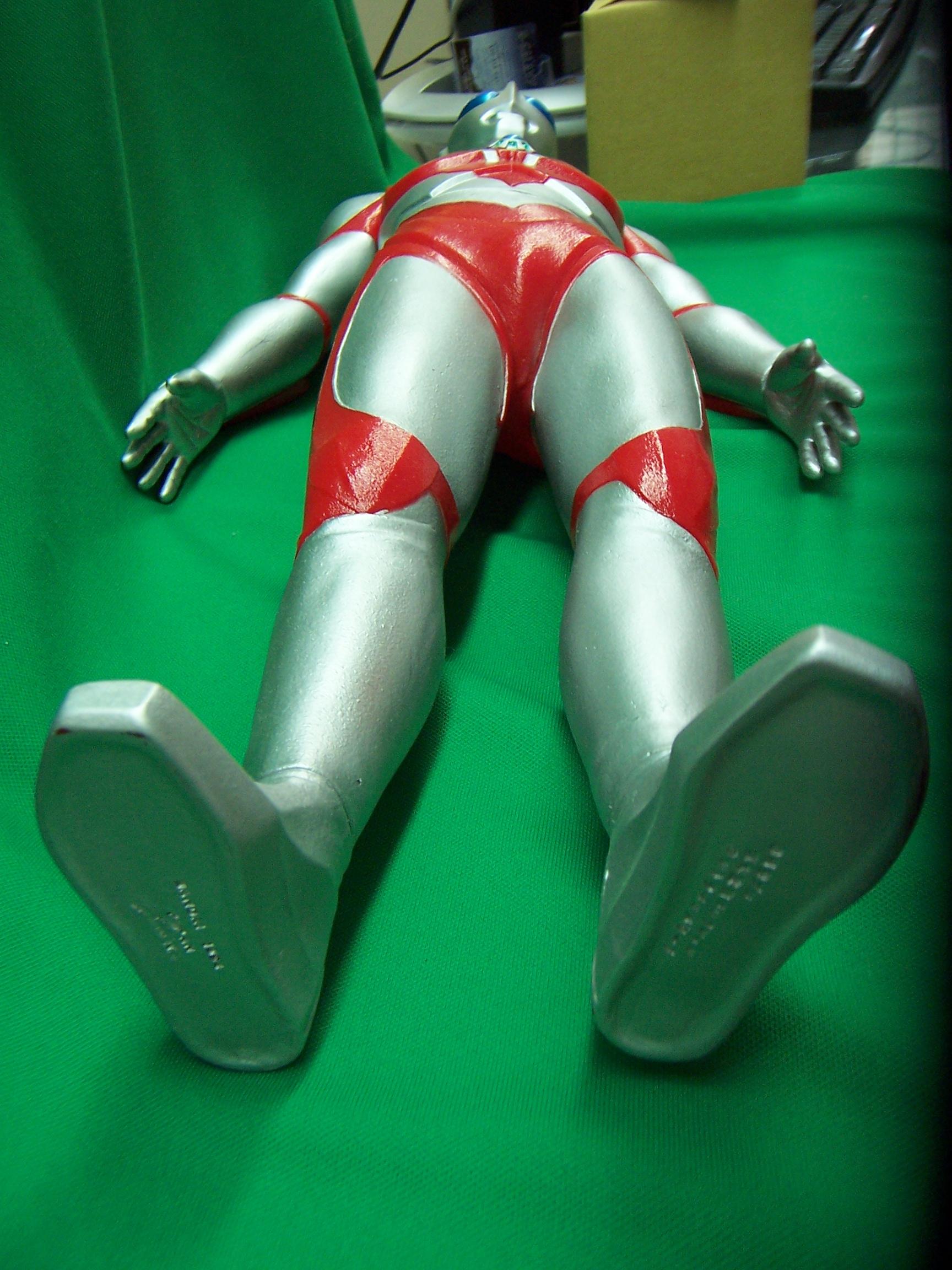 """ULTRAMAN Ultraman Powered 15"""" vinyl figure Bandai Japan ..."""
